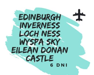 Szkocja – Highlands – Lowlands – Islands – Samolotem ✈