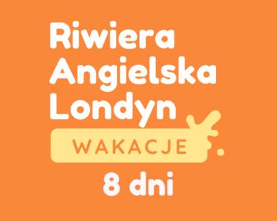 RIWIERA ANGIELSKA-LONDYN | Obóz młodzieżowy