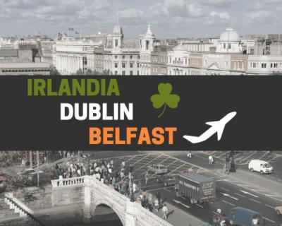 IRLANDIA-DUBLIN-BELFAST | 6 dni | Wycieczka szkolna samolotem