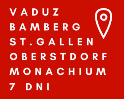 Bawaria – Austria – Szwajcaria – Liechtenstein