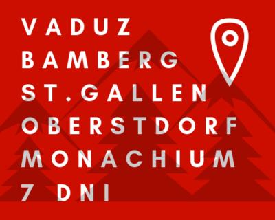 BAWARIA-AUSTRIA-SZWAJCARIA-LIECHTENSTEIN | Wycieczka szkolna autokarem