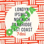 ANGLIA WSCHODNIA-LONDYN | Wycieczka szkolna autokarem