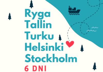 ŁOTWA-SZWECJA-FINLANDIA-ESTONIA | wycieczka szkolna-Rejs promem🚢
