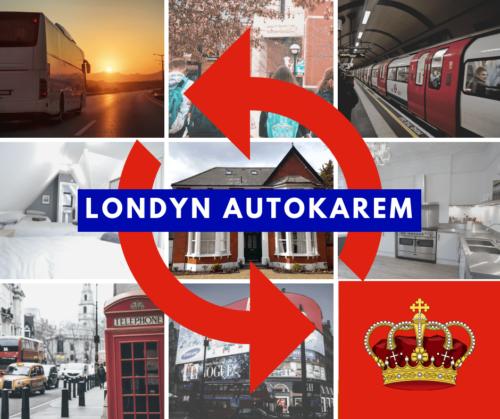 Wycieczka szkolna autokarem do Londynu