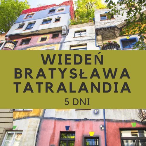 Wycieczka szkolna do Wiednia Bratysławy Tatralandii